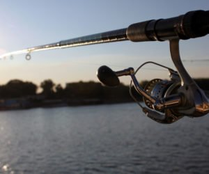 Finding the right fishing rod.